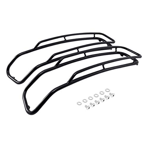 TCMT Saddlebags Lid Top Rail Guards For Harley Touring Road King Road Glide FLH FLHX FLHS FLHTK FLTC FLTRU 2014-2019
