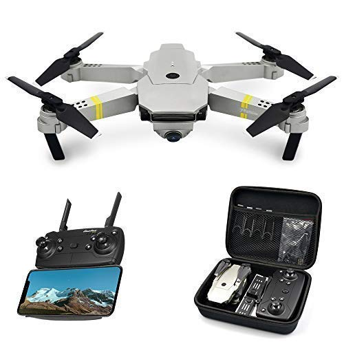 Global Drone GD88 PRO RC Drones with Camera Live Video, 720P 120° Wide-Angle HD Camera, Foldable Wi-Fi FPV Quadcopter with 2 Batteries, Altitude Hold, Drone for Beginners, Easy to Operate