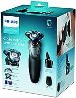 Philips Serie 7000 S7970/26 Máquina de afeitar, cuhillas confort para la piel sensible, uso en seco/húmedo, sistema SmartClean, 50 min de batería, recortador de precisión y funda de viaje, gris/negro: Amazon.es: Salud