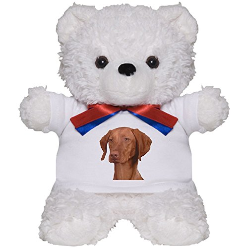 CafePress Vizsla Head Shot Teddy Bear, Plush Stuffed Animal