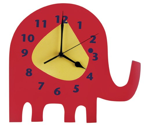 Trend Lab Wall Clock, Elephant Parade