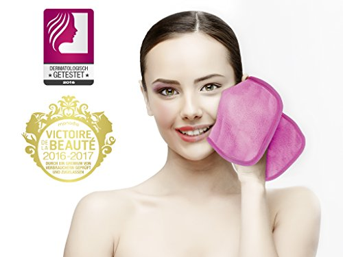 Sweet Face Makeup quitamanchas (Gamuza Make Up Eraser pañuelos de limpieza facial (2 unidades): Amazon.es: Belleza
