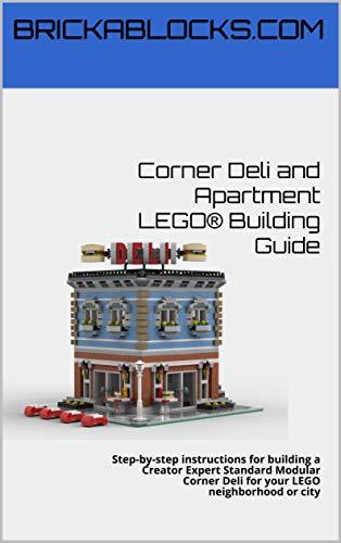 Corner Deli and Apartment Standard Modular LEGO® Building