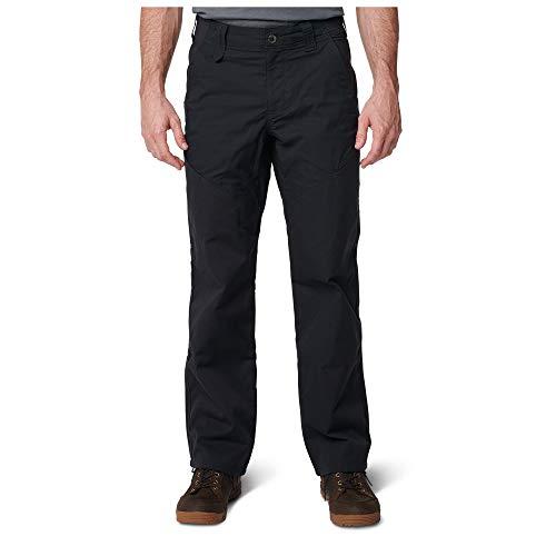 5.11 Pantalones tácticos para cantero para hombres, poliéster-algodón con acabado de teflón, cremallera YKK, estilo 74447