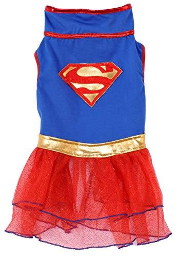 Image of DC Comics Super Girl Pet Tutu Dress, X-Large