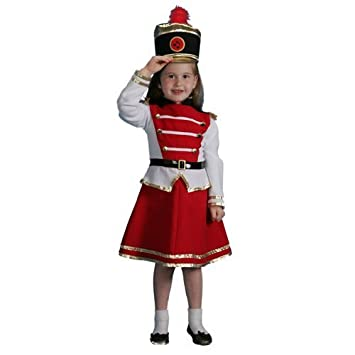 Amazon.com  Dress up America Drum Majorette Costume Set (S) by Dress Up  America  Toys   Games b69801073bda