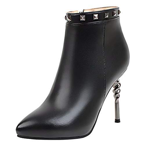 Women's Boot Black Classic AIYOUMEI AIYOUMEI Women's 8xqnWw6XEB