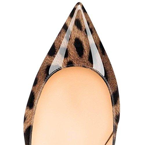 Pumput Kitten Leopard Luistaa B0tt0m Caitlin Kengät Punainen Teräväkärkiset Toimisto Pannulla Heels Pieni Naisten gwvvqzt