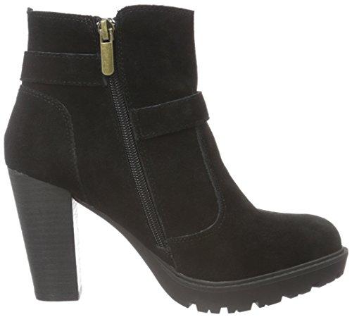 XTI 65197, Zapatillas de Estar por Casa para Mujer negro