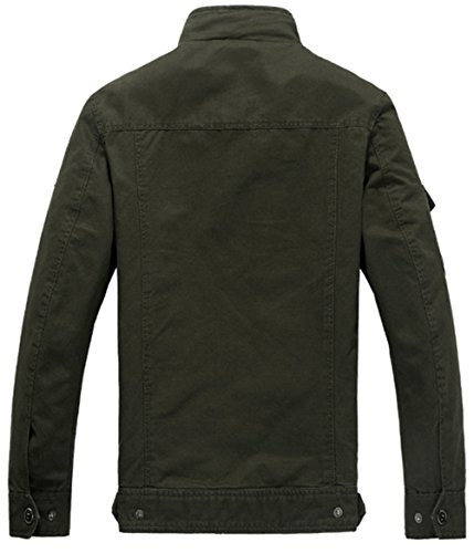 Blusa Negro Chaqueta para hombre YYZYY zwO58qM