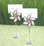Love Blooms Flower Place Card Holders (Set of 576) - Baby Shower Gifts & Wedding Favors (Set of 48)