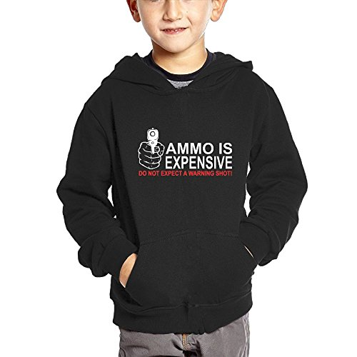 Crali Ammo Is Expensive Toddler's Fashion Hooded Sweatshirt With Pocket