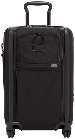 TUMI – Alpha 3 Expandable International 4 Wheeled Carry-On Luggage – 22 Inch Rolling Suitcase for Men and Women – Black