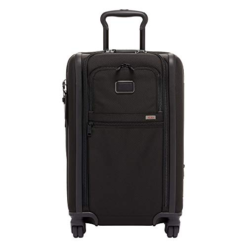 (TUMI - Alpha 3 Expandable International 4 Wheeled Carry-On Luggage - 22 Inch Rolling Suitcase for Men and Women - Black )