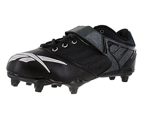 Reebok Bulldodge Low Sd2 Chaussures De Football Pour Hommes Noir / Carbone / Argent