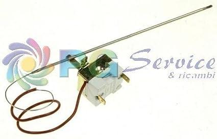 DeLonghi Termostato + Sonda bulbo Campini typ95 Horno Sfornatutto 93 FL 95 FL o190