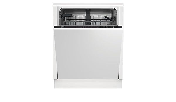 Beko DIN26410 Totalmente integrado 14cubiertos A+ lavavajilla ...