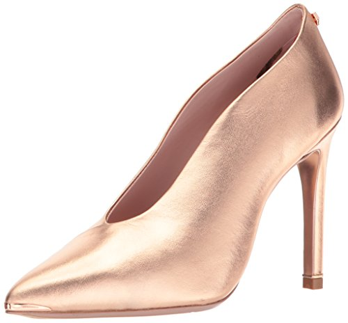 Ted Baker Women's Bexz Pump, Rose Gold, 6.5 B(M) US by Ted Baker