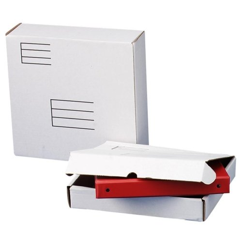 Wholesale CASE of 25 - Quality Park White Corrugated Mail...