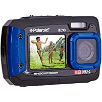Polaroid IE090-BLU Waterproof Digital Camera with 2.7 LCD (Blue)