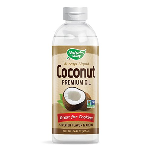 Nature's Way Liquid Coconut Premium Oil -- 20 fl oz