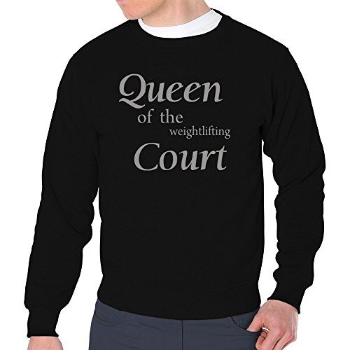 0329f35cf cheap Eddany Queen of the Weightlifting court Sudadera ...