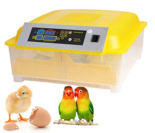 Kemanner Automatic 48 Digital Clear Egg Incubator Hatcher Egg Turning