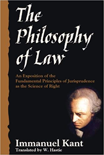an exposition of kant's arendt's and Online library of liberty immanuel kant, the philosophy of law: an exposition of the fundamental principles of jurisprudence as the science of right [1796.