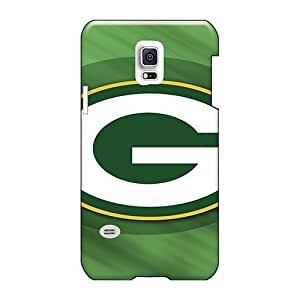 Casesbest88 Samsung Galaxy S5 Mini Anti-Scratch Hard Phone cases for Happy Christmas and New Year Allow Personal Design Vivid Green Bay Packers Pattern [hud1070HxDh]