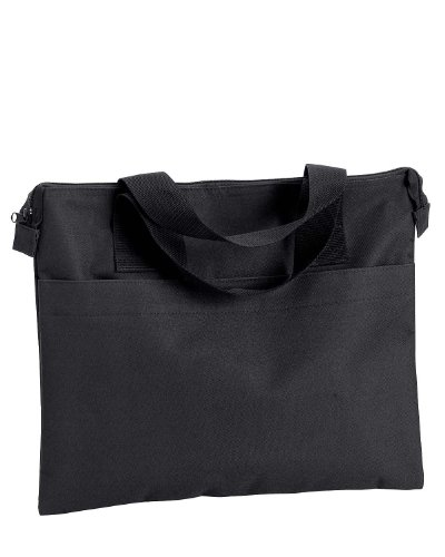 Liberty Bags Banker Tote>One size BLACK 8817