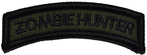 Zombie Hunter Tab Morale Patch - Multiple Colors
