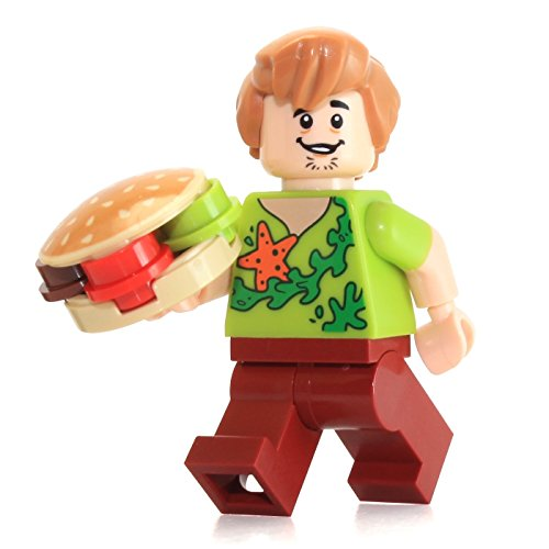 with LEGO Scooby-Doo design