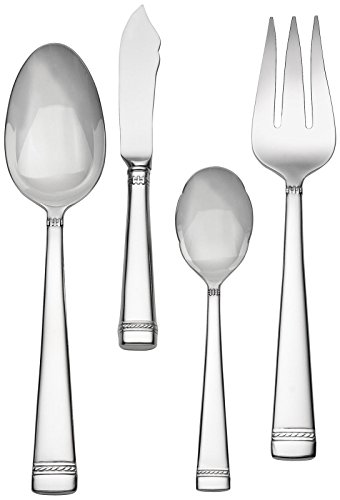 Wedgwood Vera Wang Stainless with Love 4-Piece Hostess Set -  Vera Wang Wedgwood, 57000100533
