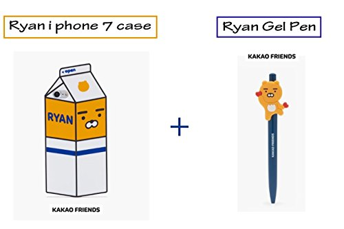 kakao-friends-ryan-i-phone-7-silicon-milk-design-case-heart-ryan-gel-pen