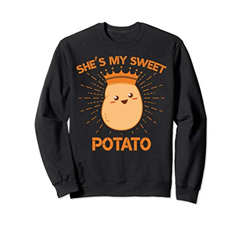 She's My Sweet Potato Couple Goal Thanksgiving Sweater Gifts