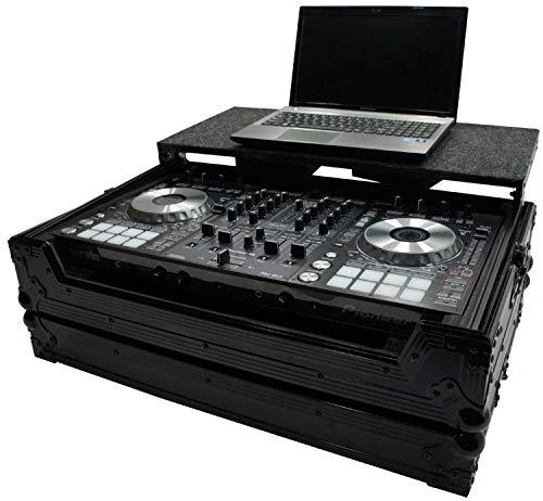 Harmony HCDDJSXLTBK Flight Glide Laptop Stand DJ Custom Case for Pioneer DDJ-SX2 (Ddj Sx Stand)