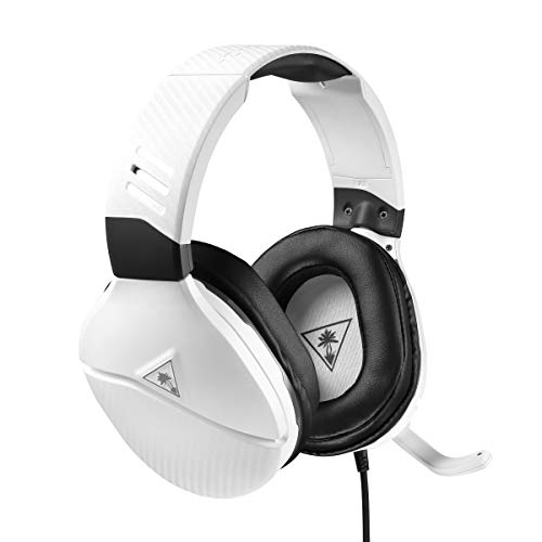 Turtle Beach Recon 200 White Amplified Gaming Headset for Xbox One, PS4 and PS4 Pro (Best Rated Ps4 Games So Far)