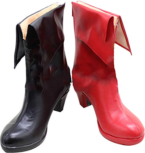 Mingchuan Whirl Cosplay Boots Shoes for Batman Harley