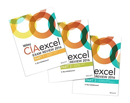 Wiley CIAexcel Exam Review 2016: Study Guides Set (Wiley CIA Exam Review Series) by S. Rao Vallabhaneni (2015-12-30)
