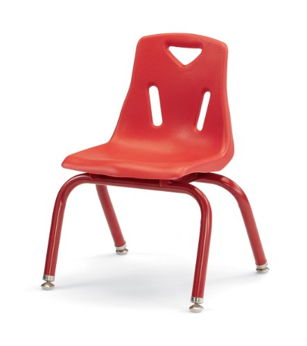 Berries 8122JC1008 Stacking Chair with Powder-Coated Legs, 12