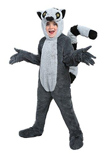 Lemur Costumes (Child Lemur Costume Medium)