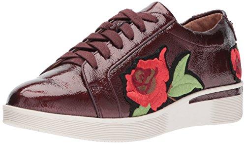 Anime Gentili Womens Haddie Rose Sneaker Con Ricamo A Fiore Con Zeppa Bassa