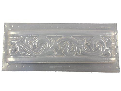 Roman Border Tile Trim Concrete Plaster Mold 6007 by Mold Creations