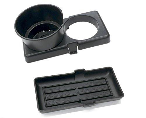 Console Ashtray Insert - OxGord Cup Holder and Ashtray for 1990-1997 Mazda Miata - Replaces 0000-8D-D01 Center Console Insert