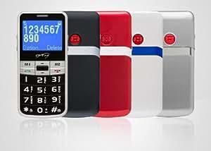 "ITT Easy Lux 2.2"" 90g - Teléfono móvil (SIM única, Despertador, GSM, Polifónico, 128 x 64 Pixeles, STN)"