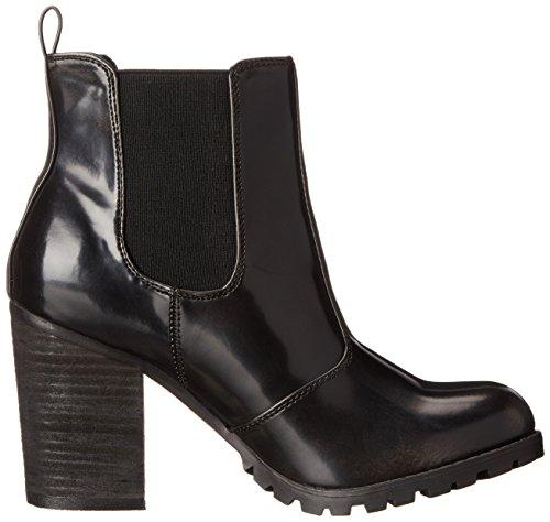 887865345343 - Madden Girl Women's Anarchhy Boot, Black/Grey, 6.5 M US carousel main 6