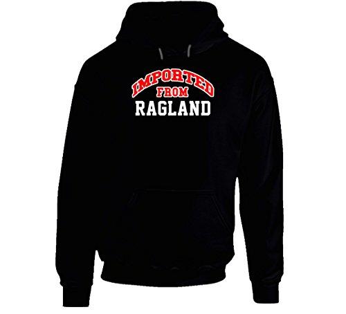 Jokertshirt Ragland Alabama Imported From Cool Funny City Hoodie 2XL Black
