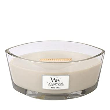 WOOD SMOKE HearthWick Flame Large Scented Candle by WoodWick