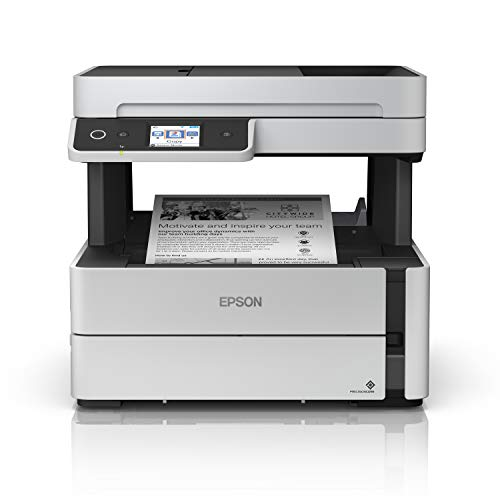 Epson EcoTank ET-M3170 Wireless Monochrome All-in-One Supertank Printer, Plus ADF, Fax and Ethernet