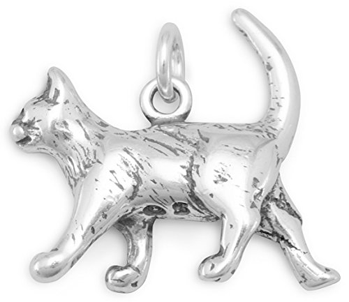 Satin Cat Charm - 7